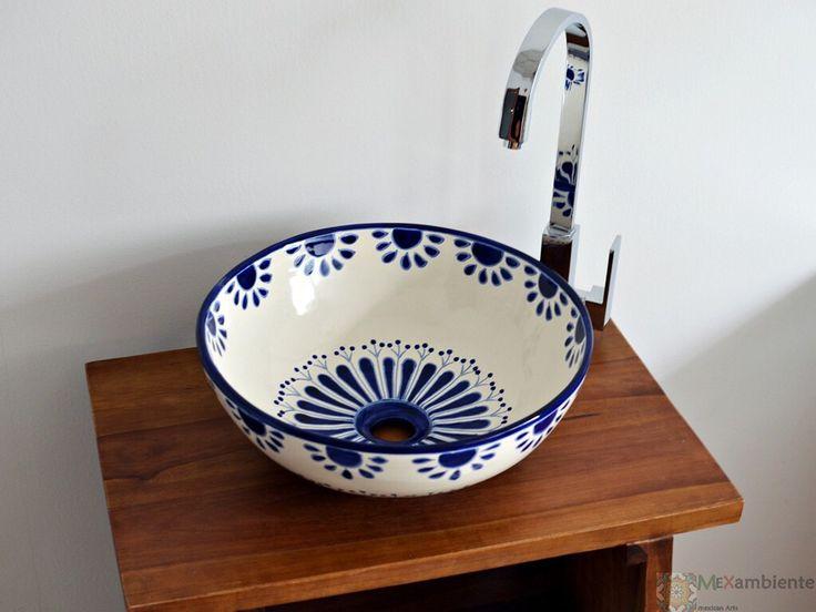 22 besten landhausstil waschbecken bilder auf pinterest landhausstil mexiko und mexikanisch - Fliesen mexikanischer stil ...