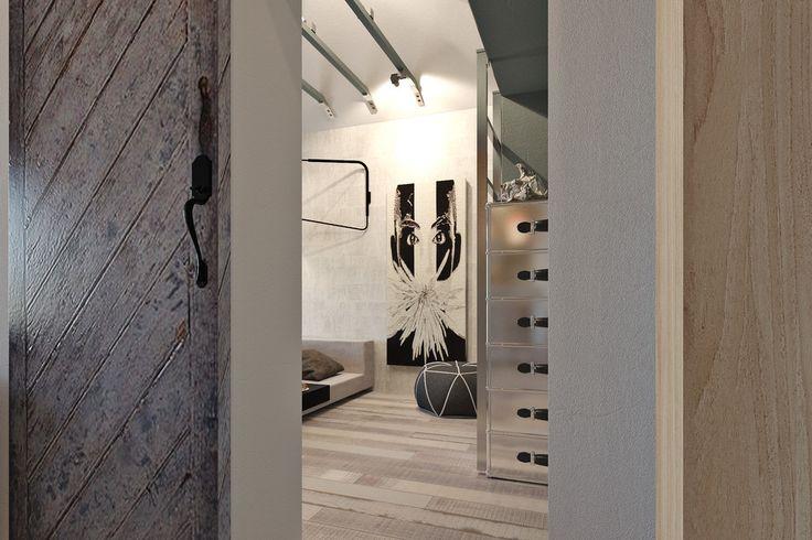 http://boomzer.com/4-mini-studio-apartments-ornament/light-wood-floor-wooden-paneling-mini-spotlights-visualizer-marina-kutuzov/