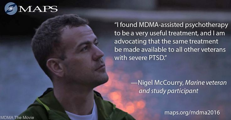 You can help make MDMA a legal medicine and heal people suffering from trauma. Every gift helps make a difference in the lives of people suffering from PTSD. maps.org/mdma2016