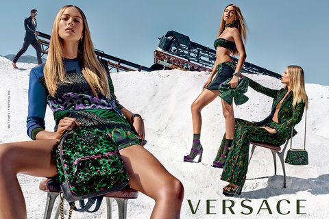 Check Out Gigi Hadid's Salty New Ads for Versace from InStyle.com