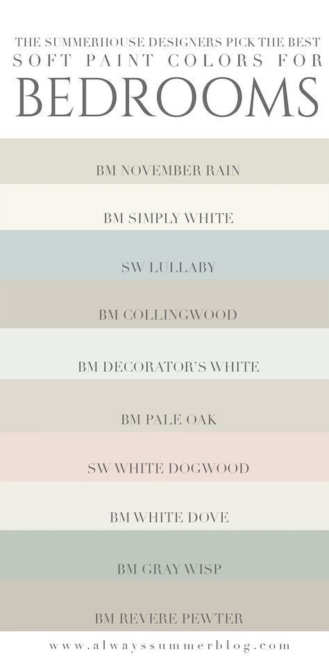 Soft Paint Colors Soothing Paint Colors Great To Be Used