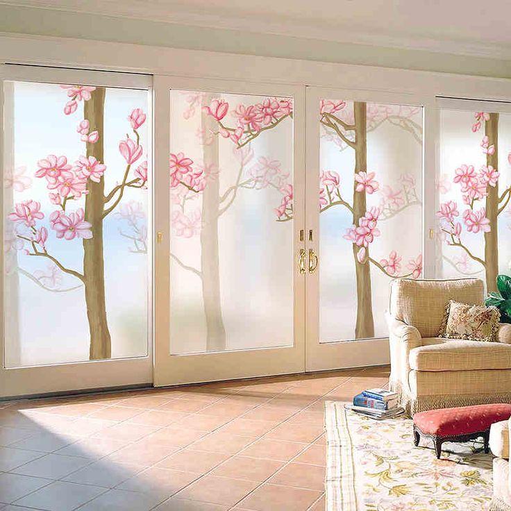 Las 25 mejores ideas sobre adhesivos para ventanas en for Puertas con vidrieras decorativas