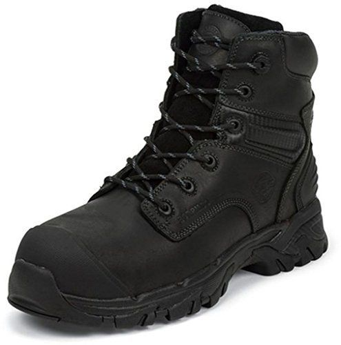 Justin Work Boots Mens Full Grain Composite Toe 14 M Black WK101 >>> Visit the image link more details.
