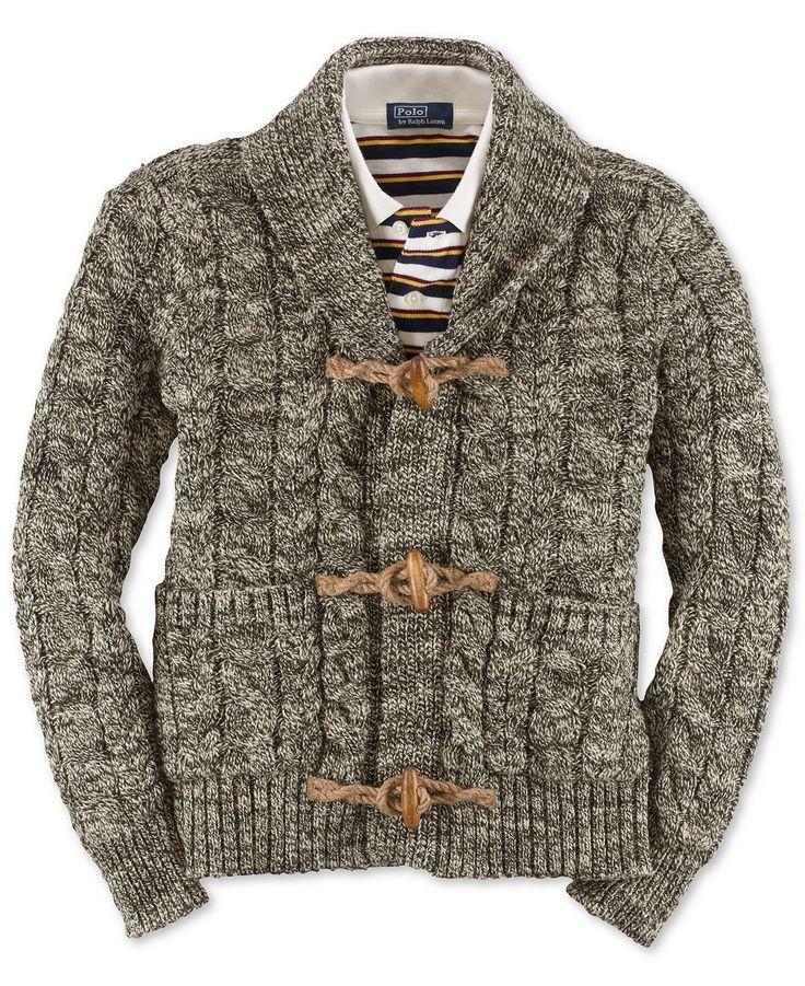 Ralph Lauren Kids Sweater, Boys Toggle Cardigan -