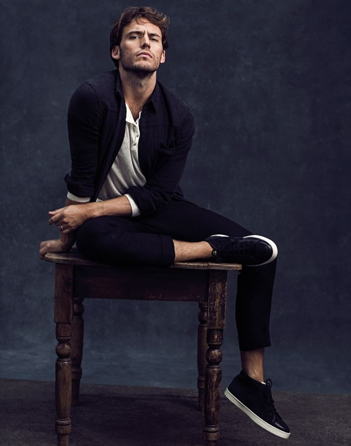 "Promoting The Hunger Games: Mockingjay Part 2, which arrives at theaters November 19, 2015, Sam Claflin appears in Men's Health UK's supplement Urban Active. Claflin is photographed by Neil Gavin for the outing, hitting the studio for striking portraits. Being compared to The Hunger Game's characterization of Finnick Odair as a ""six-foot, tanned, blonde, green-eyed …"