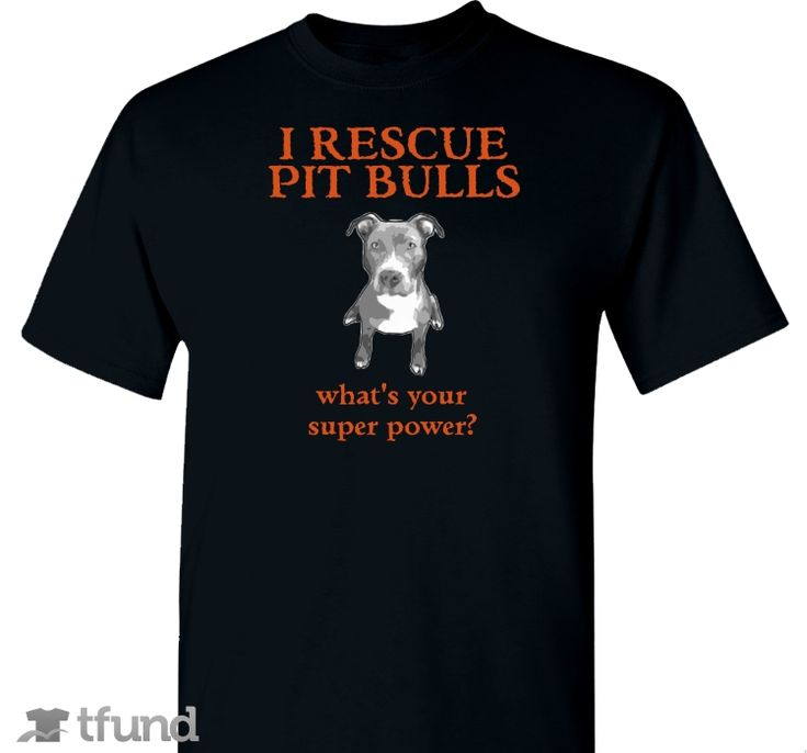 Check out i rescue pit bulls fundraiser t shirt buy one for Adoption fundraiser t shirts