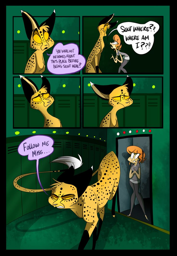 Page Thirty-two | Zoophobia Comic