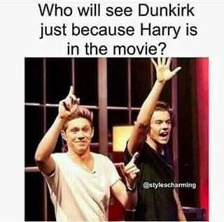 I think the 99% of the fandom. I mean, I don't like movies about the 2ww, but if Harry is in it, I'd watch it till midnight!