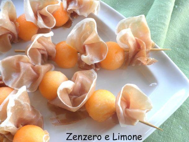 spiedini di melone