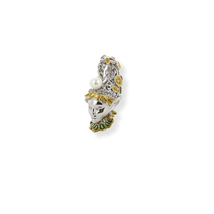 Подвеска-перлина «Лесной эльф»