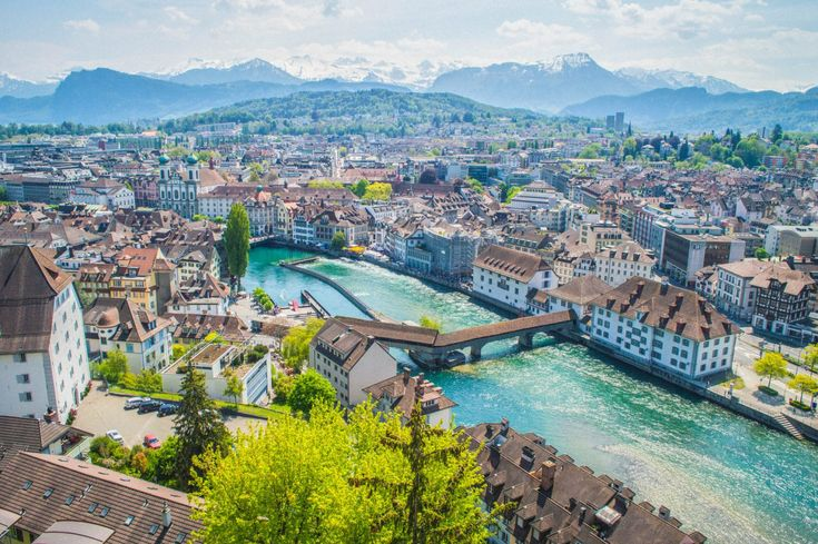 The most gorgeous city in the world! Lucerne, Switzerland is a must-visit for anybody traveling to Central Europe.