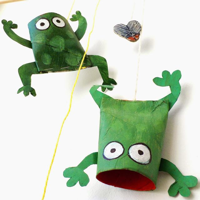 228 best images about crafts toilet paper rolls on pinterest for Frog crafts for preschoolers