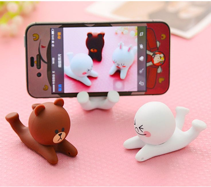 Universel Creative portable mobile phone holder support pour iPhone 4 4S 5 6 6 s Samsung Galaxy S4 S5 S6 Note 3 4 MP4 PDA GPS