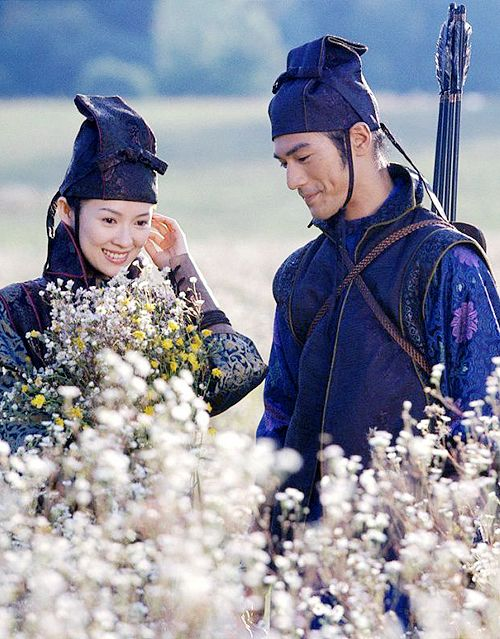 House of Flying Daggers (2004)  - Ziyi Zhang and Takeshi Kaneshiro