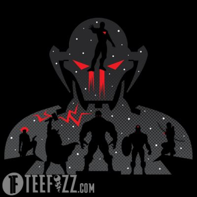 """Assembly Required"" is a T-Shirt design of the Avengers assembling to fight the evil Ultron, showcasing Iron Man, Captain America, the Hulk, Hawkeye, Black Widow, and Thor. Get yours at: http://www.teefizz.com/product/assemble/ #Marvel #Avengers #Ironman #CaptainAmerica #Hulk #Hawkeye #BlackWidow #Thor #Ultron #Comic #Movie #TShirt #Shirt #TeeShirt #Tee #Clothing #Nerd #PopCulture"