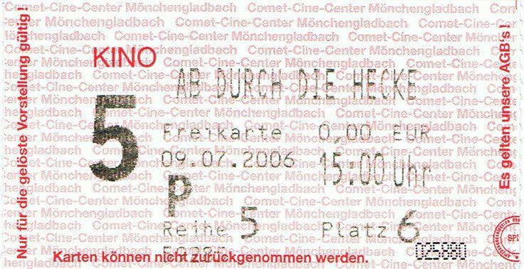 29.07.2006 Ab durch die Hecke (Comet Cine Center/Mönchengladbach)