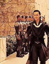 Something about the roll of the shoulders…   Community Post: Reasons Why Loki Is The God Of Your Dreams THIS POST
