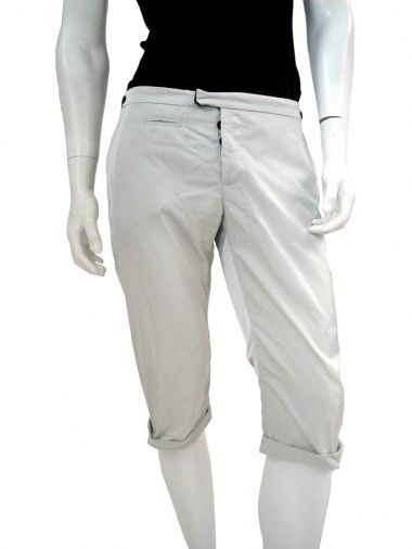 NICOLAS & MARK Made in Italy Pant to knees, 1 thread pocket + 1 side pocket on the front, 1 flap pocket + 1 thread pocket back, fly with  buttons, fastener with hook, turn-up at the bottom EUR 79.00