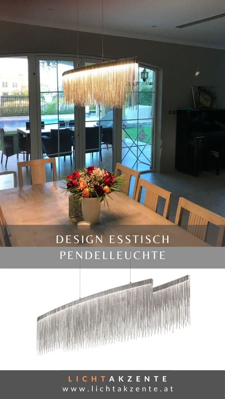 Ideal Lux LED Pendelleuchte Versus Oval | Esstisch
