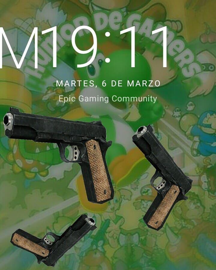 Kè Menciona amig@s . Ayuda a la cuenta con tus aportanciones de Fotos/Vídeos y los subiré GGamer : @retrogamers1412  @gamers_games_city  @jeffryg_allgames Teamer$ : #teamalv >TagS< #gamer #gamers #game #videogames #juego #juegos #xbox #playstation #nintendo #pc #pcgamer  #videojuegos #consolas #consola #Likesivesesto :v #humordegamers #m1911 #gun #pistol #pistola #arma #armas #pistolas #guns #hora