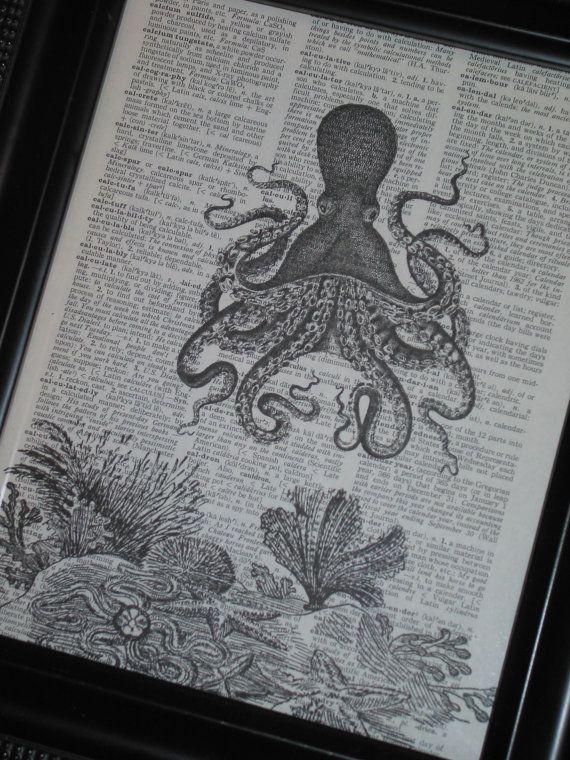 BOGO SALE Sea Life Art Print Ocean Art by HamiltonHousePrints