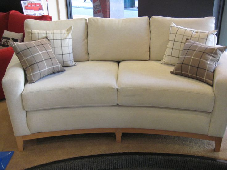 Our First Curved Sofa For The Showroom Where We Just Hened To Have A