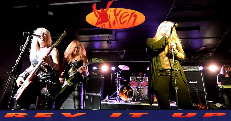 "Vixen ""Rev It Up""  4 Songs  2014 Tour Toronto Oct 11"