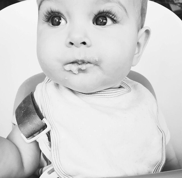 This baby is prettier than most humans