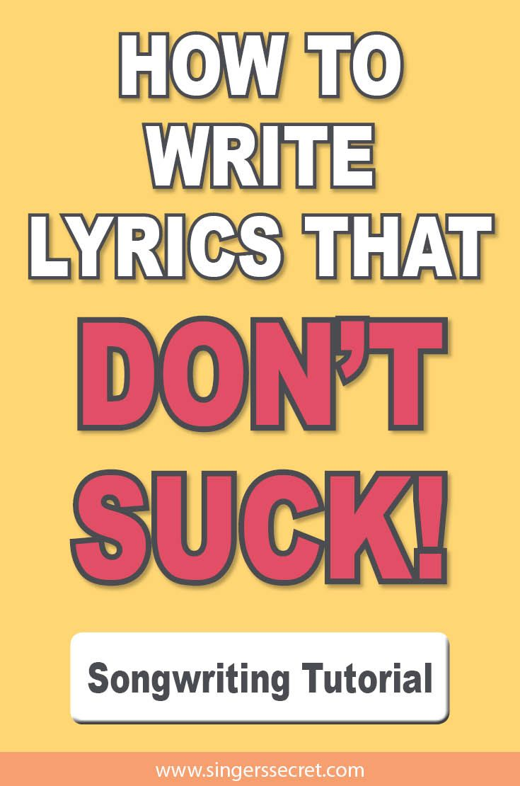 The Art of Lyric Writing: How to Match Lyrics to Melody