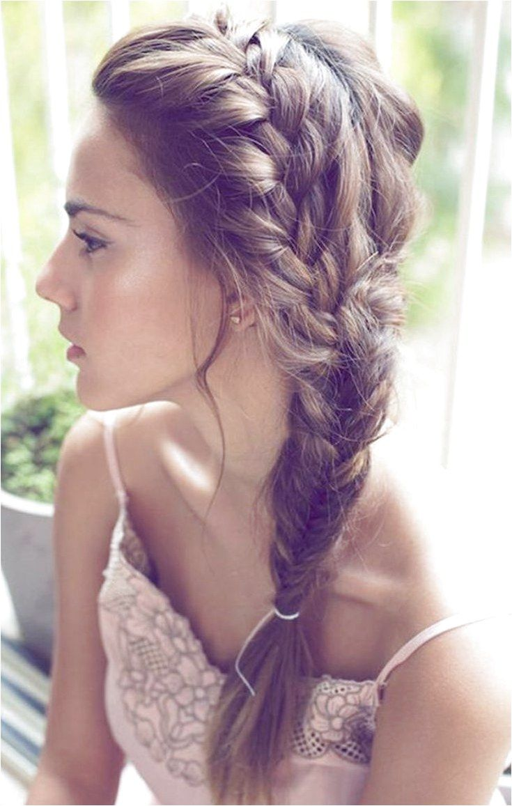 10 Easy Summer Self #BraidedHairstyle click now for more info.. | Medium length hair styles ...
