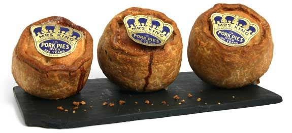Our favourite Melton Mowbray pork pie!