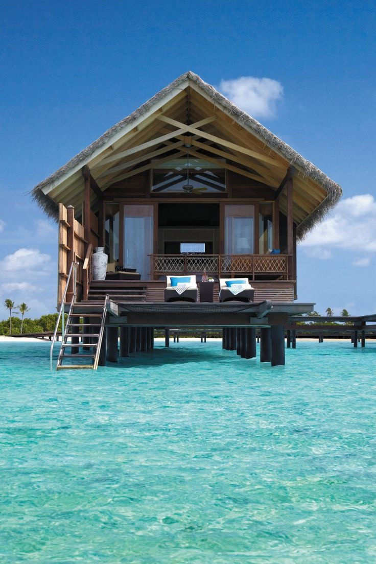 5 Star Shangri-La's Villingili Resort and Spa, Maldives.Villingili Resorts, Beach House, Dreams Vacations, Shangrila, Shangri La, Best Quality, Places, Borabora, Spa