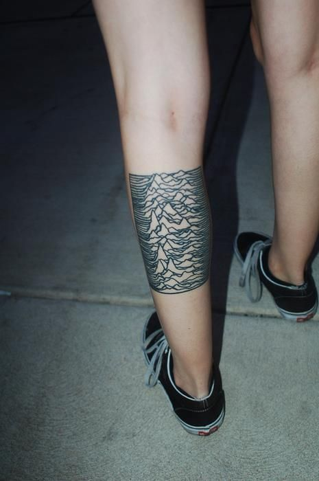 Joy Division Tattoo- love it!!