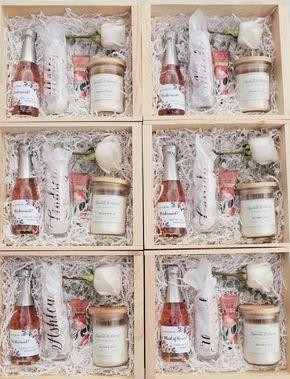 Bridesmaid Proposal Box Ideas - Rose Gold Champagne Flutes - Bridesmaid Proposal Gift - Cambridge Avenue Design - #bridesmaidproposal #bridesmaidgifts -rosegoldwedding