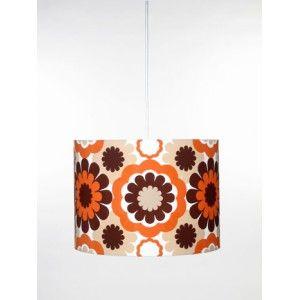Globen Taklampa RETRO orange/brun - Inred.se
