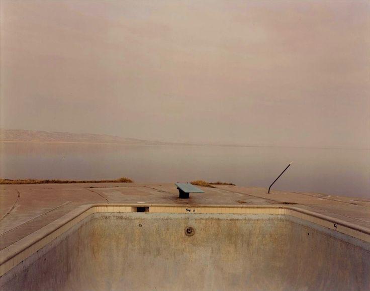 richard misrach diving board, salton sea, 1983