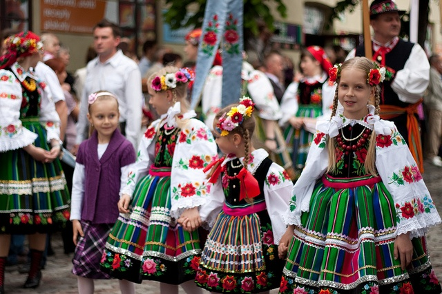 Corpus Christi procession Lowicz Poland