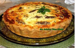 Une magnifique recette fait maison de Quiche aubergine courgette et viande très bonne, le résultat était au top, n'oubliez pas de partager vos réalisations.