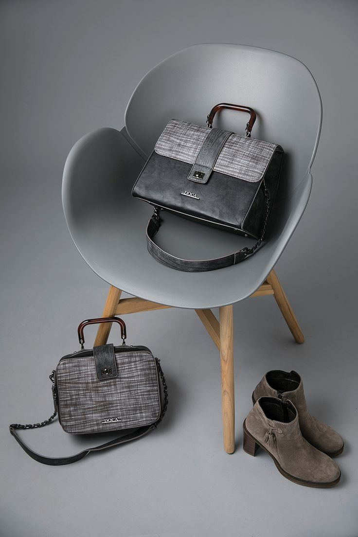 just Minimal  Minimal & chic. Δώσε κομψό και all time classic αέρα στις εμφανίσεις σου με την νέα Just Minimal collection.  Θηλυκές γραμμές, πολυτελή υφάσματα φιλικά προς το περιβάλλον και ανακυκλώσιμα υλικά χαρακτηρίζουν το trend που θα ξεχωρίσει αυτό τον χειμώνα. #doca #doca fw1718 #fashion #campaign #stilife  #bag #chair #photogarphy