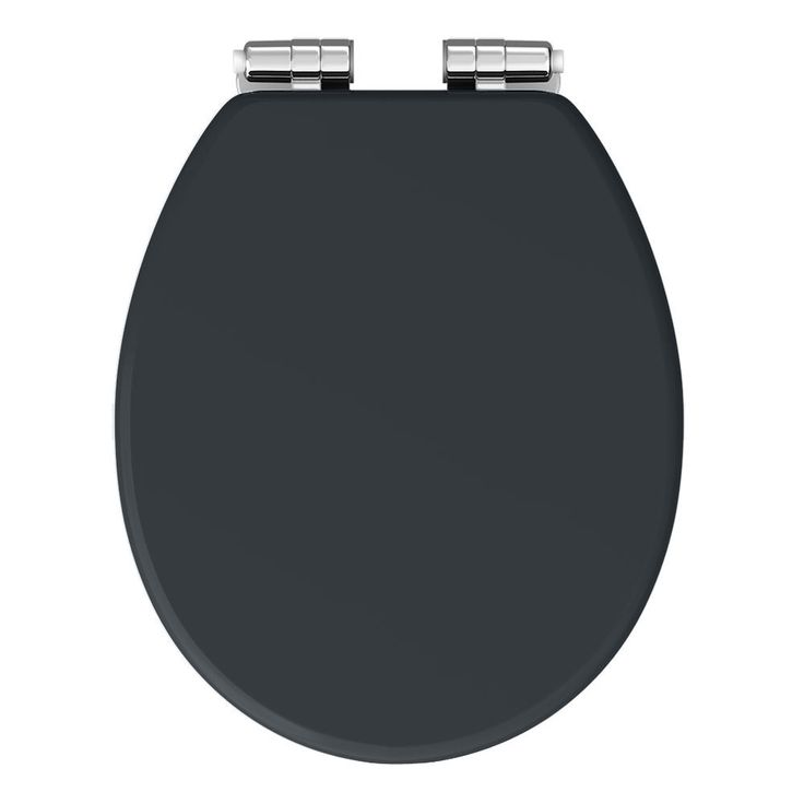 Chatsworth Graphite Soft Close Toilet Seat | Victorian Plumbing UK
