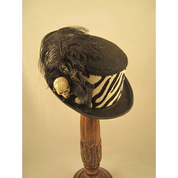 Steampunk Top Hat Day of the Dead Steampunk Store by EmilyWayHats