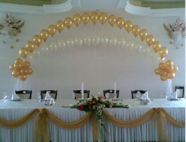 1000 images about wedding balloon decorations on pinterest for Balloon decoration for wedding receptions