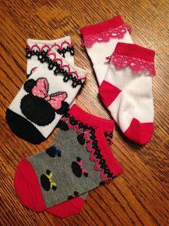 çorapları süsleme