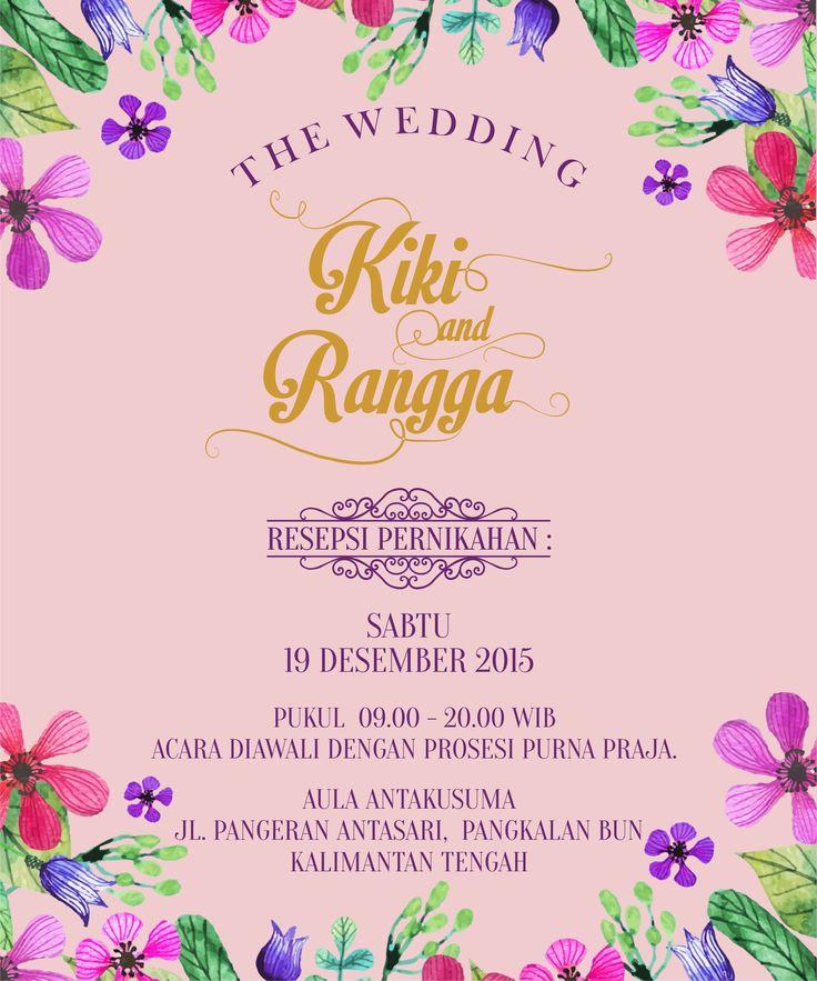 Online wedding invitation, e-invitation, wedding inviation