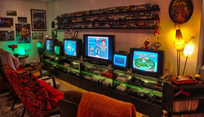 7 Ways To Make Good Use Of Your Old Game Console Make Tech Easier Game Room Decor Video Game Rooms Video Game Room