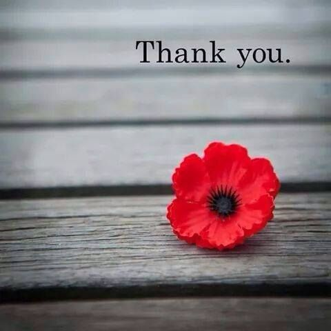 For all who gave and those you continue to give! Thank you is never enough.