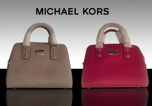Δερμάτινη τσάντα Michael Kors από δέρμα Saffiano από 239€ Μόνο 139€