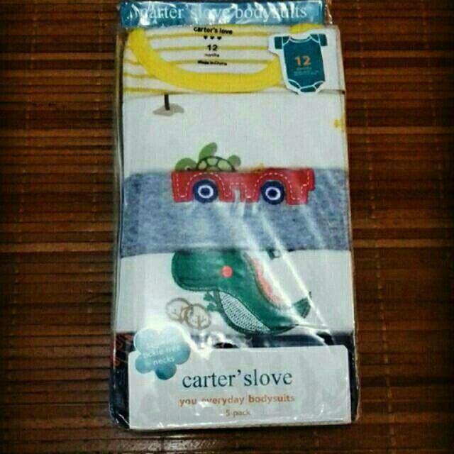 Saya menjual Pakaian bayi 5in1 jumper carter cowok lengan pendek seharga Rp85.000. Dapatkan produk ini hanya di Shopee! https://shopee.co.id/gayayayyakuw/199997435 #ShopeeID