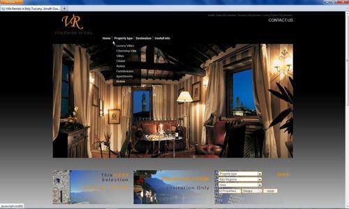 Esempi Portfolio Grafico:siti web turismo,matrimoni,professionisti,servizi.