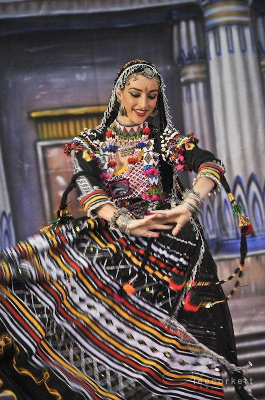 Rajasthani Folk Dancer